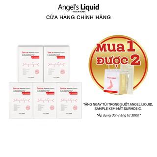 Combo 5 mặt nạ dưỡng trắng, mờ thâm Angel Liquid Tone up Whitening Program Glutathione V-Ampoule Mask 25g x 5 thumbnail