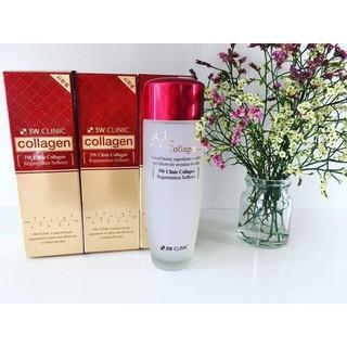 Nước hoa hồng 3W Clinic Collagen Softener Toner dưỡng căng mướt da 150ml