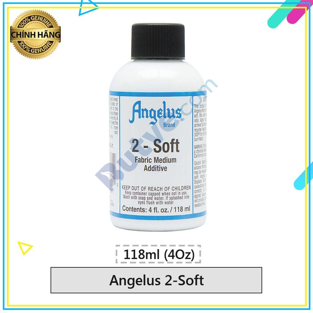 Dung môi pha màu vẽ lên bề mặt vải Angelus 2-Soft - 118ml (4Oz)