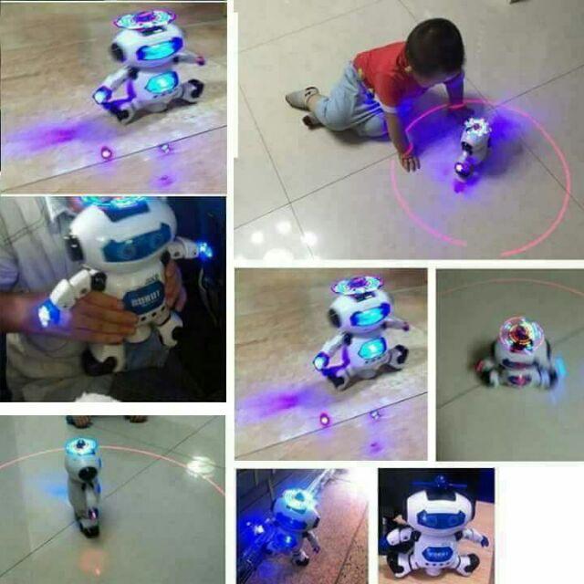 Robot thông minh xoay 360 độ - 3614934 , 1216679378 , 322_1216679378 , 199000 , Robot-thong-minh-xoay-360-do-322_1216679378 , shopee.vn , Robot thông minh xoay 360 độ