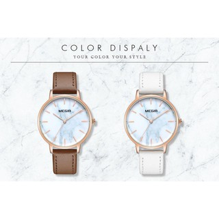 Đồng hồ đeo tay mặt tròn thời trang dành cho nữ thumbnail