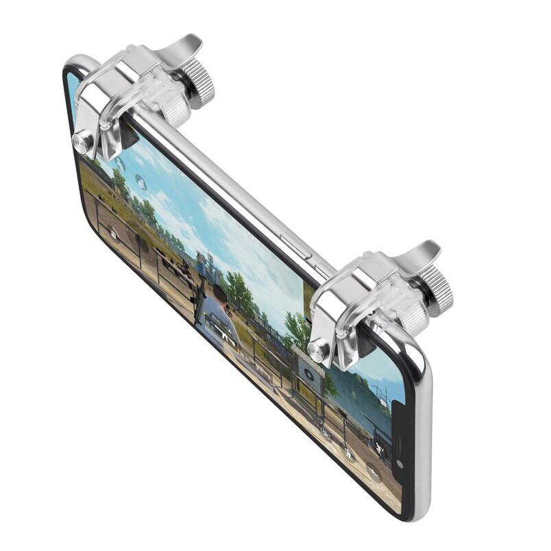 Bộ 2 Nút Bấm Chơi Game PUBG Dòng R11 Hỗ Trợ Chơi Pubg Mobile, Ros Mobile-Thế hệ Mới 2019