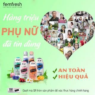 [Tặng Kèm Deal 0đ] Dung dịch vệ sinh phụ nữ cao cấp năng động Anh Quốc Femfresh Active Fresh Wash 250ml 4