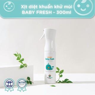 ❌Xịt diệt khuẩn Baby Fresh – JOONA BABY Hàn Quốc- diệt khuẩn đồ chơi, tiệt trùng bình sữa, núm ti giả cho bé – 300ml