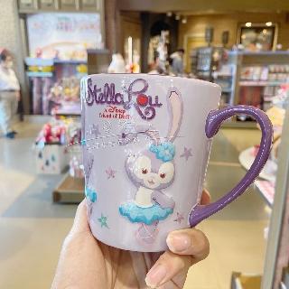 Shanghai Disney Star Dailu Mug Cup Star Dailu Ceramic Cup Star Dailu Coffee Cup Milk Cup Hot Water Cup