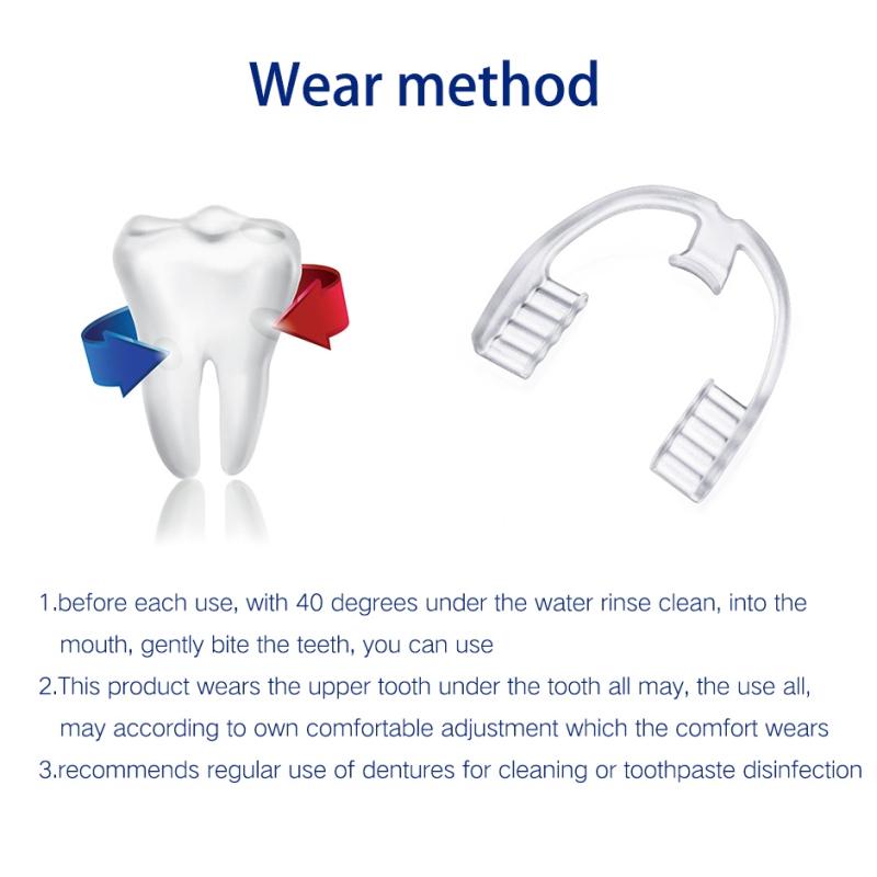Khuôn niềng chống nghiến răng bằng silicon tiện dụng