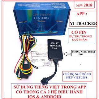 freeship 40k ] Thiết bị định vị GPS GT02E C300 2018 [ Có pin dữ trữ ] Ct8