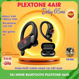 Tai nghe bluetooth plextone 4Air chính hãng,chuyên game,độ trễ tối đa 65ms