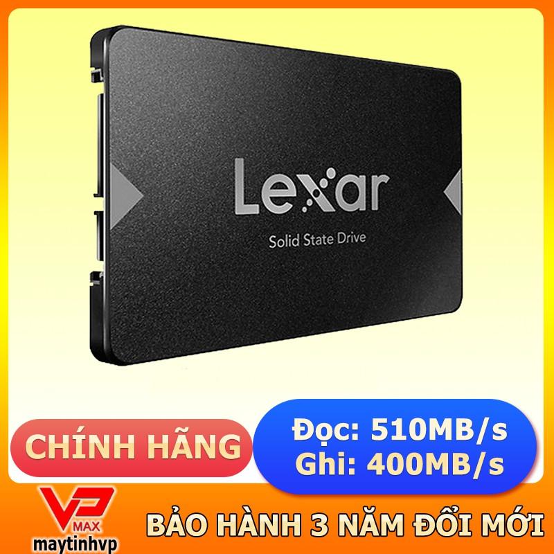 Ổ cứng Cho Máy Tính PC laptop SSD  480GB 120Gb Seagate Lexar Kingfast Fuhler  Bảo hành 3 năm chính hãng