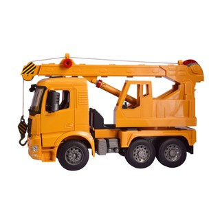 Children's Toy Car Model Heavy Truck Inertia Engineering Vehicle Big Crane