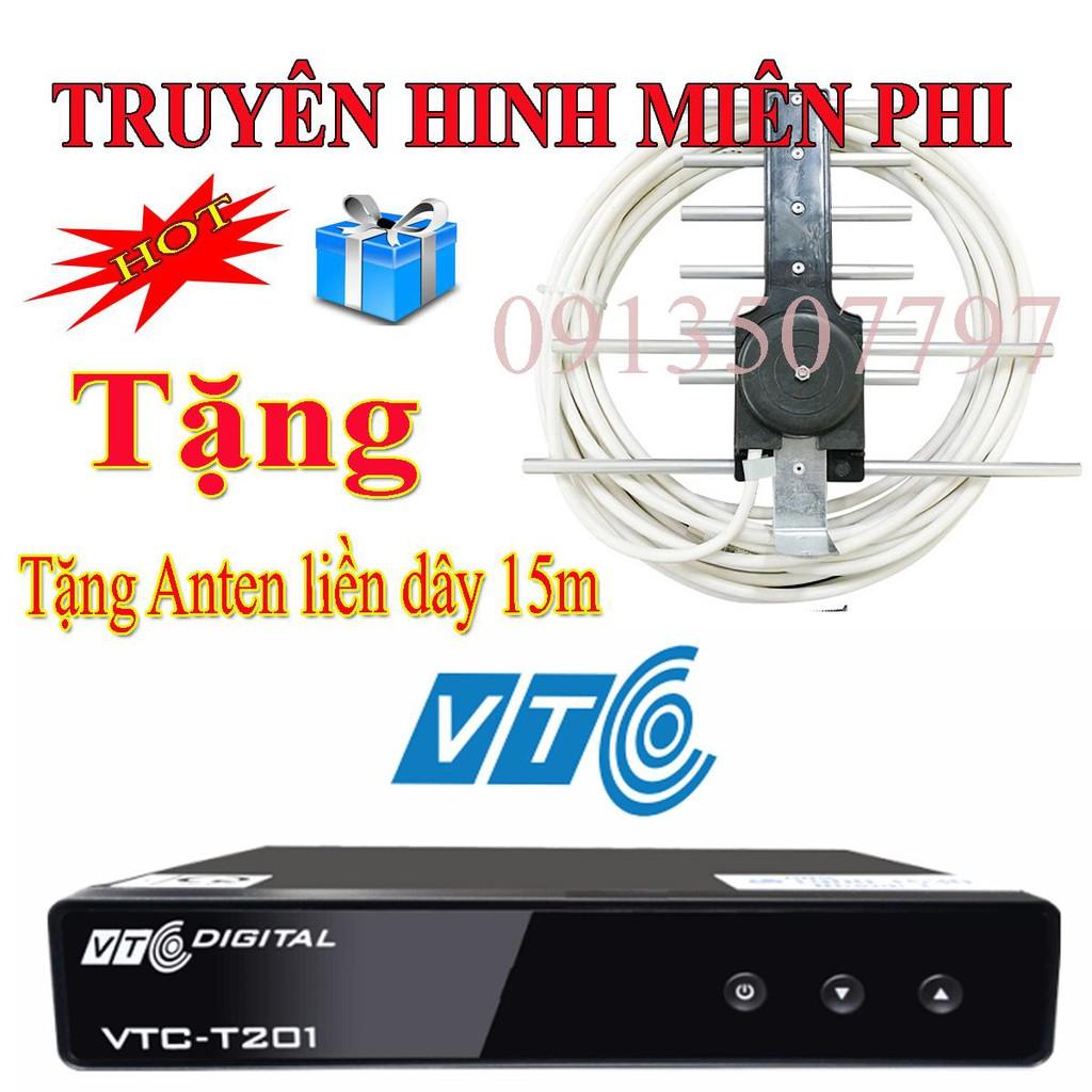 đầu thu truyền hình số mặt đất DVB T2 VTC T201 tăng anten kèm dây 15m - 22990926 , 1475678846 , 322_1475678846 , 249000 , dau-thu-truyen-hinh-so-mat-dat-DVB-T2-VTC-T201-tang-anten-kem-day-15m-322_1475678846 , shopee.vn , đầu thu truyền hình số mặt đất DVB T2 VTC T201 tăng anten kèm dây 15m