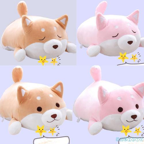 ✦♛✦Anime Shiba Inu Dog Soft Plush Pillow Cushion Animal Pet Doll Stuffed Toy Gift