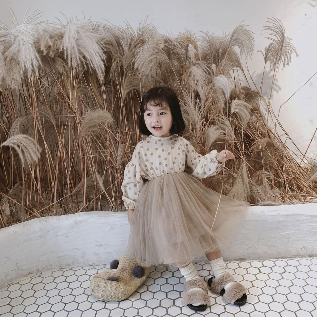đầm công chúa chấm bi cho bé gái - 14206813 , 2689971800 , 322_2689971800 , 638000 , dam-cong-chua-cham-bi-cho-be-gai-322_2689971800 , shopee.vn , đầm công chúa chấm bi cho bé gái