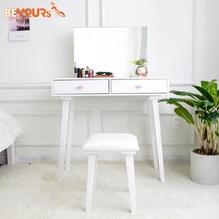 Bàn Trang Điểm BEYOURs B Charming Dressing Table Nội Thất Kiểu Hàn Lắp Ráp - Trắng