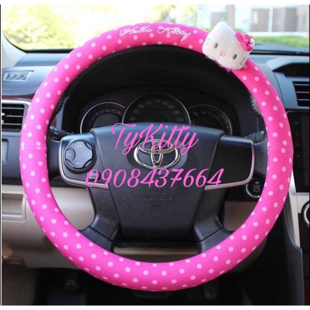Bọc vô lăng tay lái xe hơi Hello Kitty - 2471656 , 1033632676 , 322_1033632676 , 180000 , Boc-vo-lang-tay-lai-xe-hoi-Hello-Kitty-322_1033632676 , shopee.vn , Bọc vô lăng tay lái xe hơi Hello Kitty