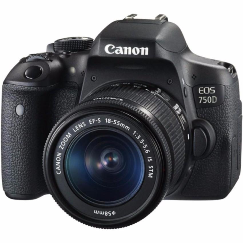 Máy Ảnh Canon EOS 750D 24.2MP Wifi với Lens kit 18-55mm F3.5-5.6 IS STM(Hãng phân phối chính thức)
