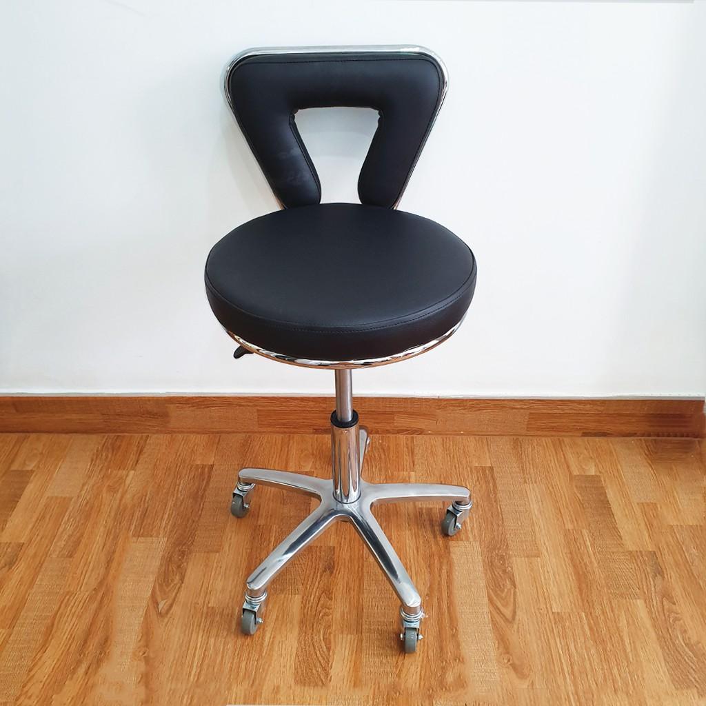 Ghế xoay Spa, ghế phun xăm cao cấp ( Màu đen ) | Shopee Việt Nam