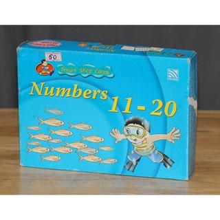 99% Bộ 32 flash cards thẻ học số & toán cộng trừ