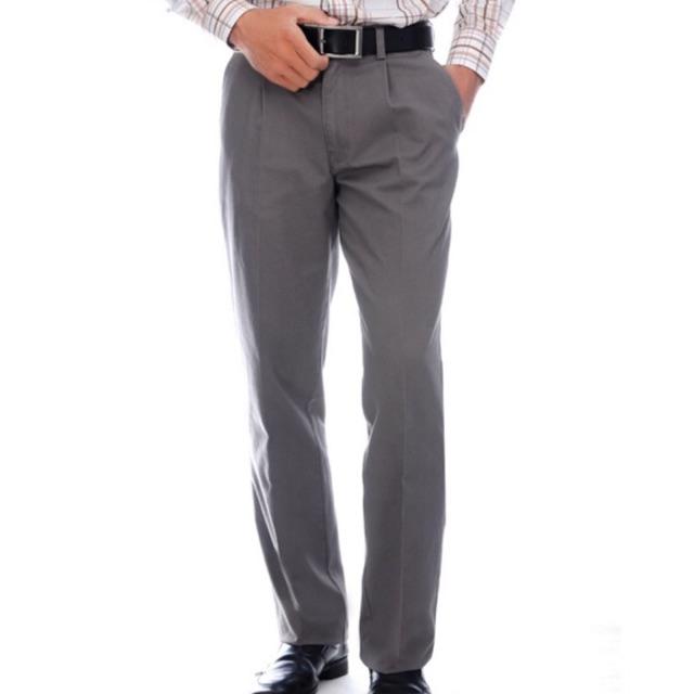 Quần kaki nam trung niên dáng ống đứng loại 1 dày dặn
