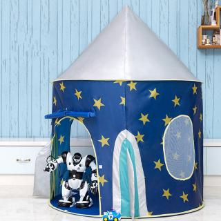 Play Tent Portable Foldable Boy Girls Prince Folding Tent Children Boy Castle Play House Kids Gifts Outdoor Toy Tents