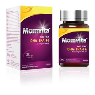 Vitamin bà bầu Momvita - Mẹ khỏe Bé thông minh thumbnail