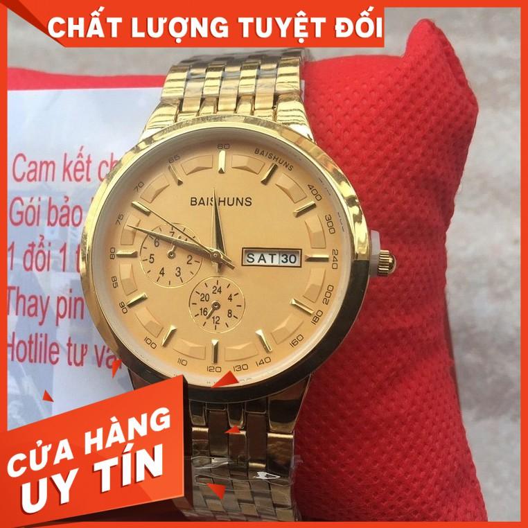 [Rẻ Vô Địch] Đồng hồ nam BAISHUNS B1052 TRẺ TRUNG PHONG CÁCH GIÁ H