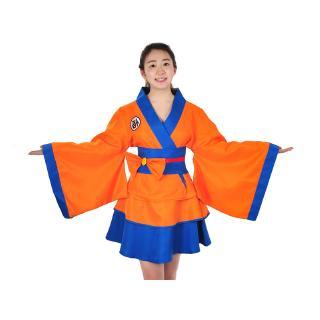 Trang Phục Kimono Cosplay Nhân Vật Son Goku