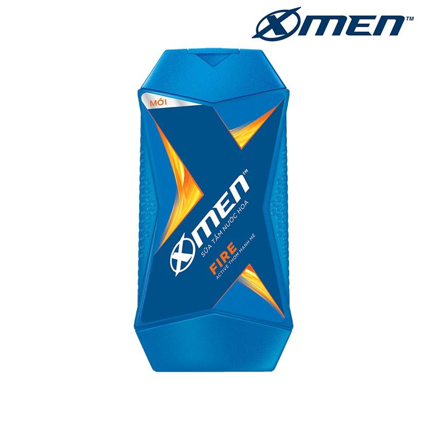 Sữa tắm nước hoa X-Men Fire 180g