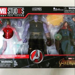 Marvel legend Infinity War set