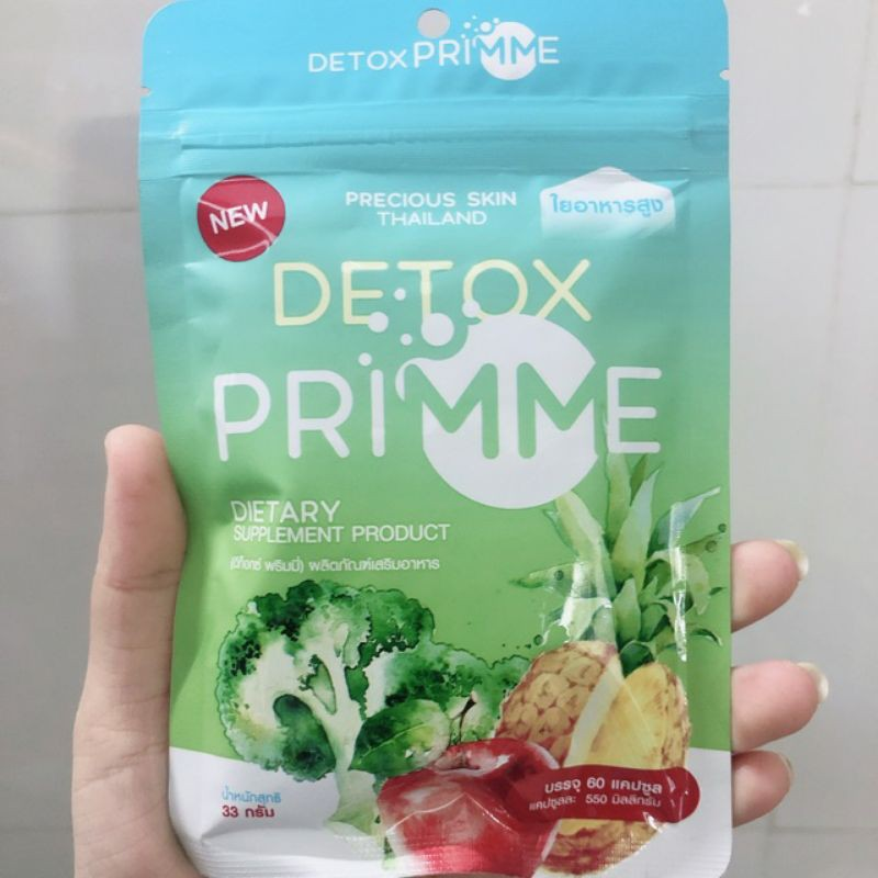 Detox khử mỡ hoa quả 60 vien