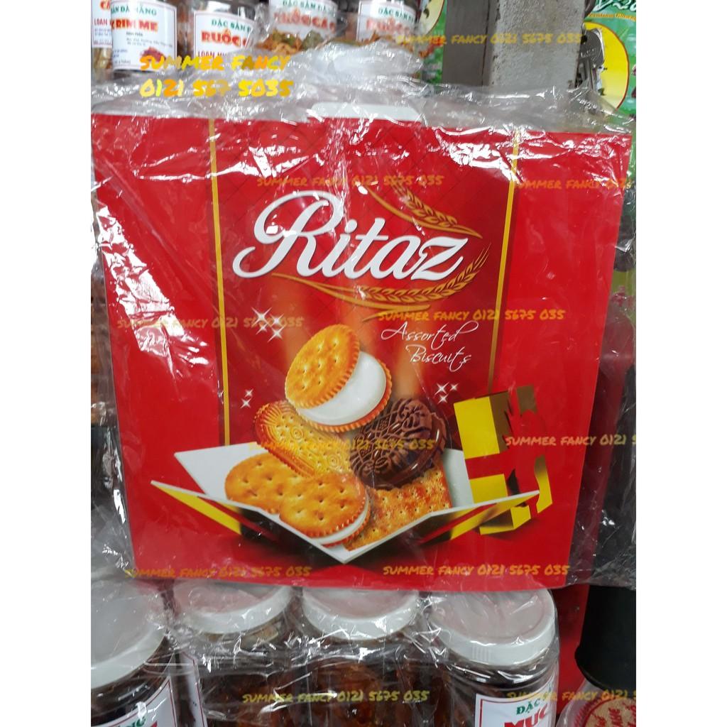 340g Bánh quy bơ Ritaz Biscuits - bánh kẹo Tết - 3024043 , 810610363 , 322_810610363 , 95000 , 340g-Banh-quy-bo-Ritaz-Biscuits-banh-keo-Tet-322_810610363 , shopee.vn , 340g Bánh quy bơ Ritaz Biscuits - bánh kẹo Tết