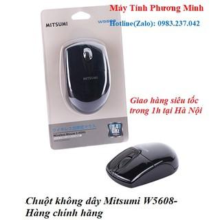 Chuột không dây Mitsumi W5608 - Hàng chính hãng bảo hành 36 tháng thumbnail