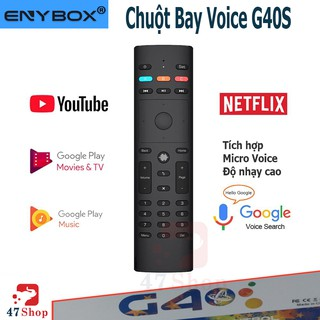 Điều khiển chuột bay tìm kiếm giọng nói G40s - Remote Mouse Air Voice IR
