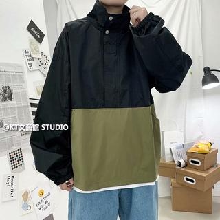 Áo Sweater Cổ Cao Phong Cách Thời Trang Harajuku Cho Nam Giới