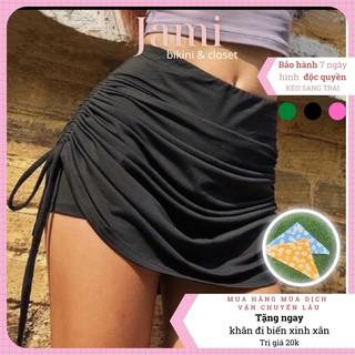 váy bơi quần short rút dây đi biển áo bơi đi bơi cao cáo vải chất lượng ĐI BIỂN ĐI BƠI QUẦN BƠI JAMI – V