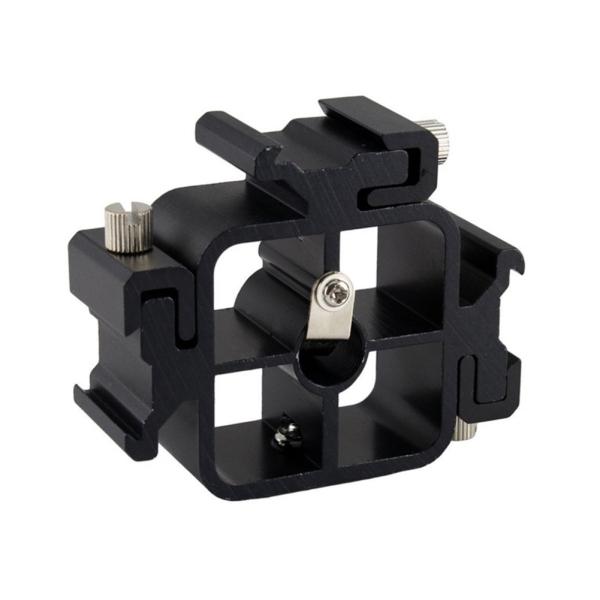 Three-head Hot Shoe Flash Stand Multi-function Flash Holder Camera Bracket Accessories
