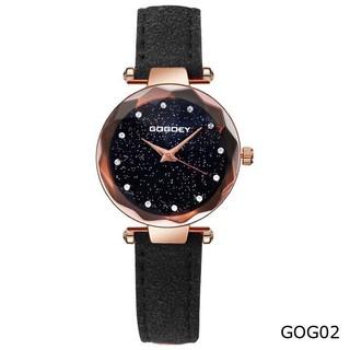 ( Giá Sỉ ) Đồng hồ thời trang nữ GoGoey dây da nhung cá tính SCXe792