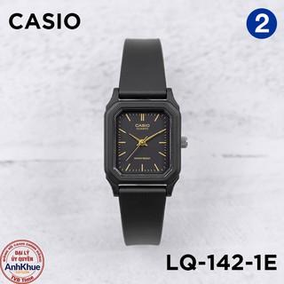 Đồng hồ nữ dây nhựa Casio Standard chính hãng Anh Khuê LQ-142 Series
