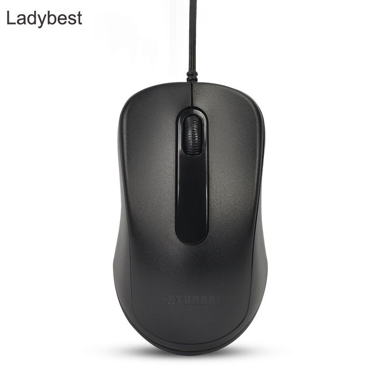 LDBS HY306 Wired Mouse Desktop Laptop Home Office USB Optical Mouse