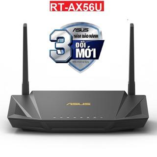 Bộ Phát Wifi Asus RT-AX56U Băng Tần Kép AX1800 WiFi6 MU-MIMO OFDMA AiProtection Pro