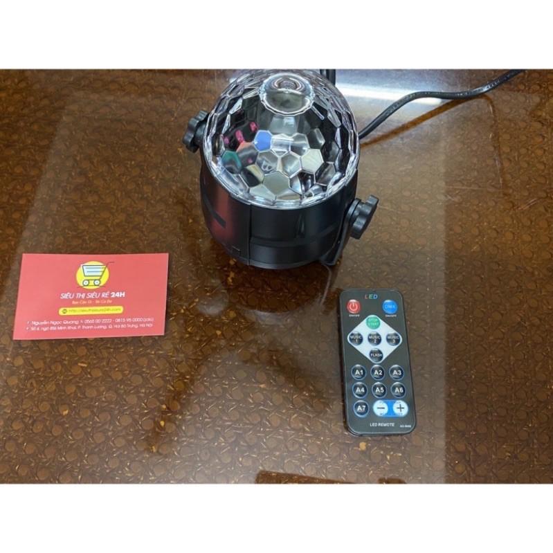 Đèn led xoay 7 màuFREESHIP Đèn Led Có Remote điều khiển nhiều chế độ - Đèn Trang Trí