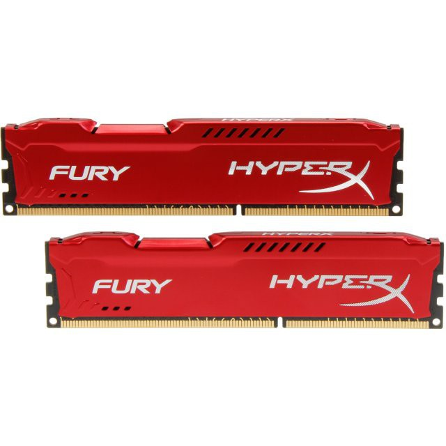 RAM Kingston HyperX Fury Red 8GB (1x8GB) DDR3 Bus 1600Mhz