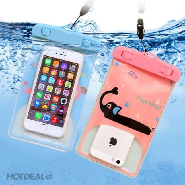 Túi đựng điện thoại chống nước hình động vật hoạt hình 88066 THẾ GIỚI TIỆN ÍCH