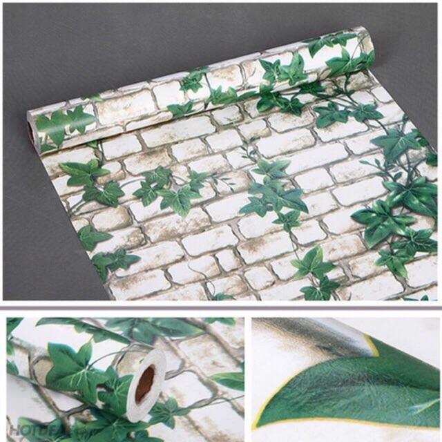 Giấy dán tường có keo sẵn khổ 45cm*10m