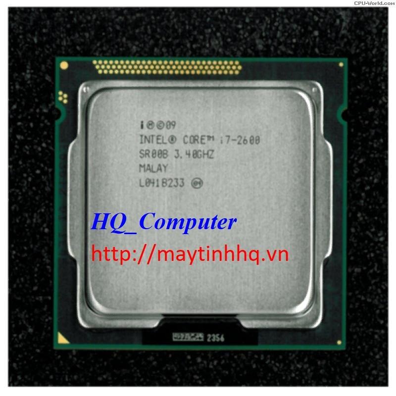 CPU Máy Tính Core i7 2600