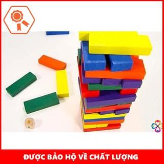 Bộ đồ chơi rút gỗ 48 thanh màu – THANH XUÂN