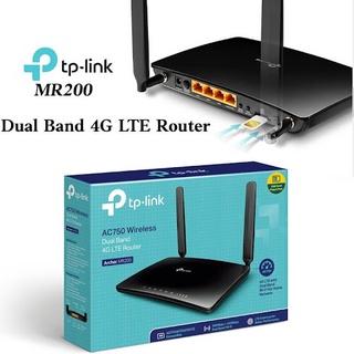 Bộ Phát Wifi Router 4G LTE Băng Tần Kép AC750 TP-Link Archer MR200 – Hàng Chính Hãng