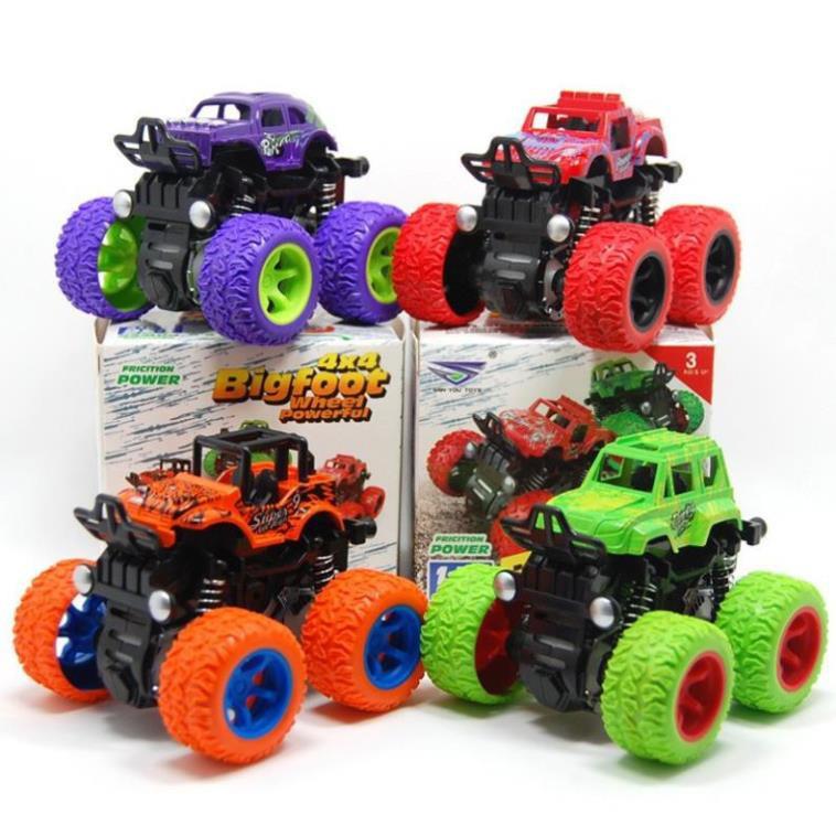 Đồ chơi mô hình xe vượt địa hình bánh đà cao cấp, chất liệu siêu bền cho bé thỏa sức...