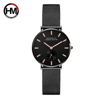 Đồng hồ nữ HANNAH MARTIN chính hãng - Model HM -2138W - dây thép không gỉ - bảo hành thumbnail