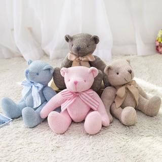 Gấu Teddy Đan Len Thủ Công Đáng Yêu